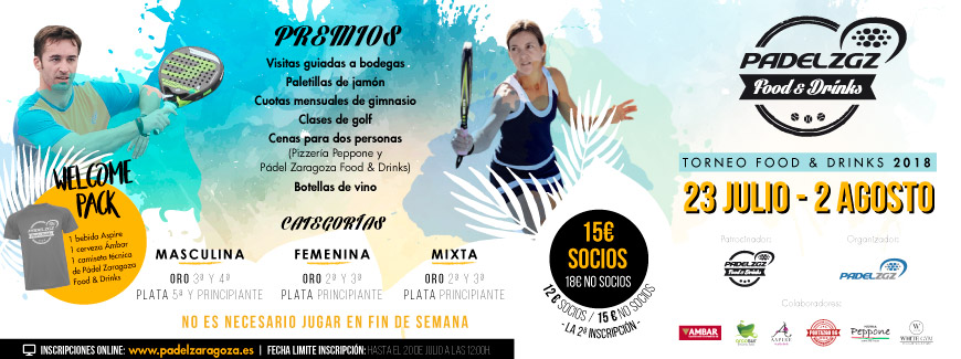TORNEO FOOD & DRINKS 2018